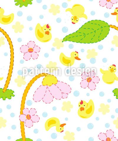 Baby Quietscheentchen Designmuster