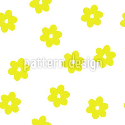 Verstreute Blümchen Nahtloses Muster