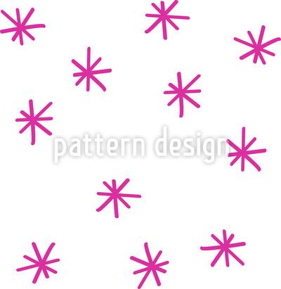 Verstreute Funkelsterne Nahtloses Vektor Muster