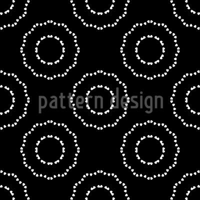 Getupfte Kreise Muster Design