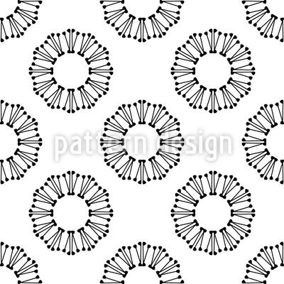 Around in Circles Pattern Design