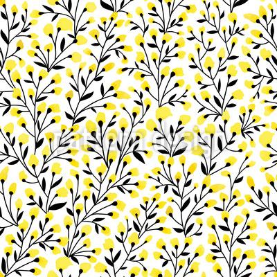 Alles Blüht Nahtloses Muster