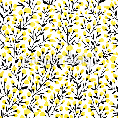 Everything Blooms Seamless Pattern