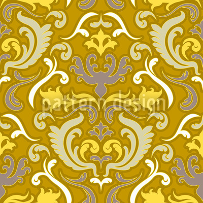 Bon Apart Gold Seamless Vector Pattern Design
