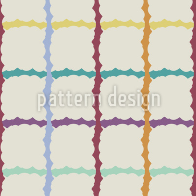 Check Of Stripes Seamless Vector Pattern