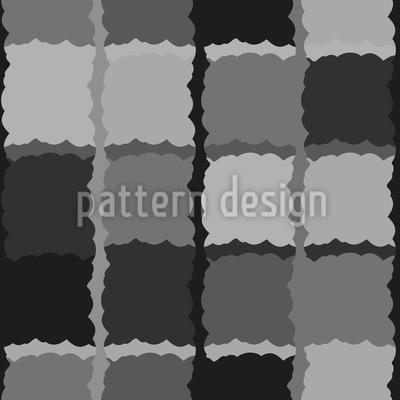 Monochromes Karo Vektor Design