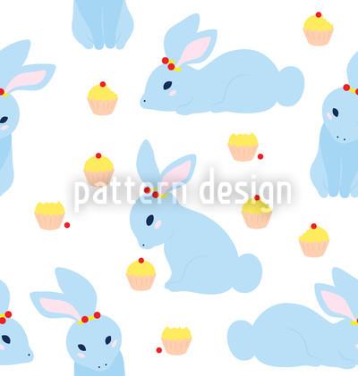Benny Bunny Rapportiertes Design