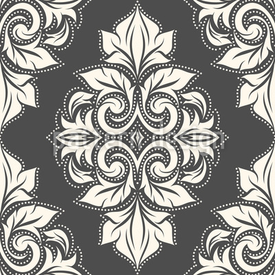 Luxury Damask Vector Ornament