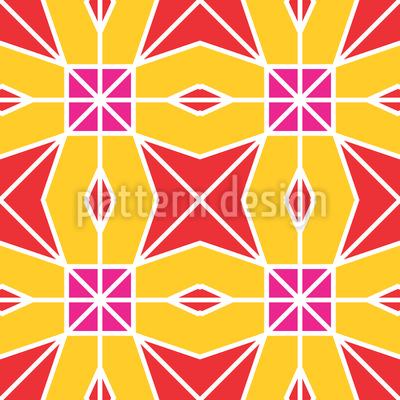Sternen-Match Muster Design