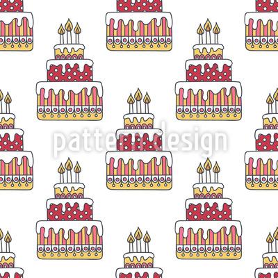 Geburtstagstorte Vektor Design