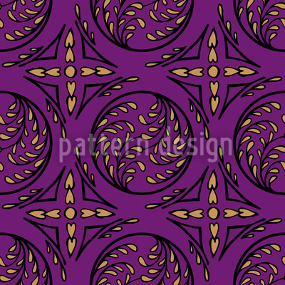 Pintoretto Pure Seamless Vector Pattern Design