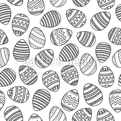 Osterei Vektor Muster