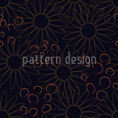Leicht Blumig Muster Design
