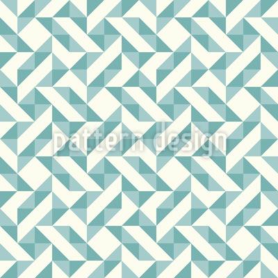 Geometrisches Patchwork Rapportiertes Design