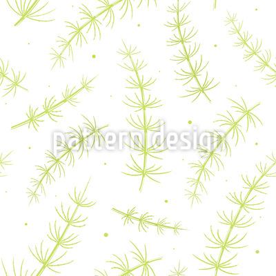 Schachtelhalme Muster Design