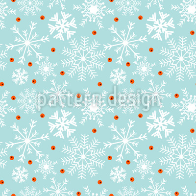 Winter-Beeren Muster Design