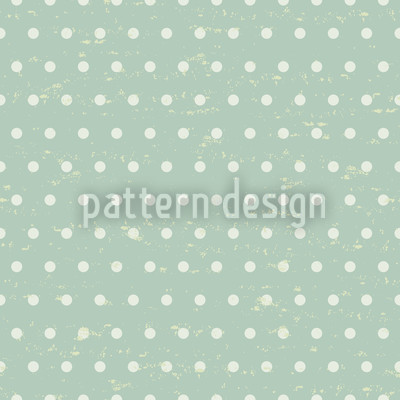 Polkadots Mint Vector Ornament