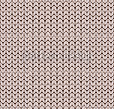 Strickliesl Nahtloses Vektor Muster
