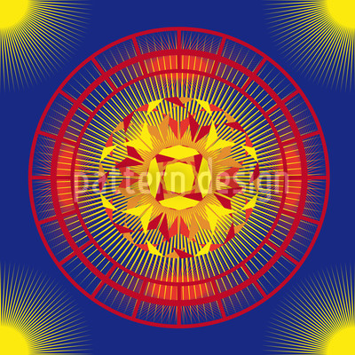 Outersun Vector Pattern
