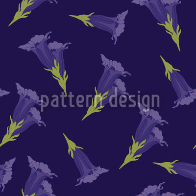 Gentian Blue Vector Design