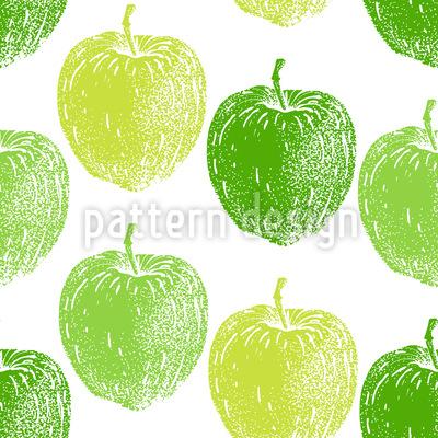 Reifer Apfelbaum Muster Design