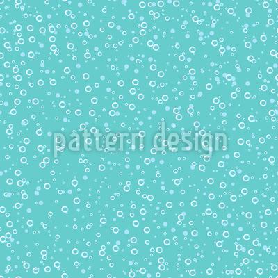 Respiração Submarina Design de padrão vetorial sem costura