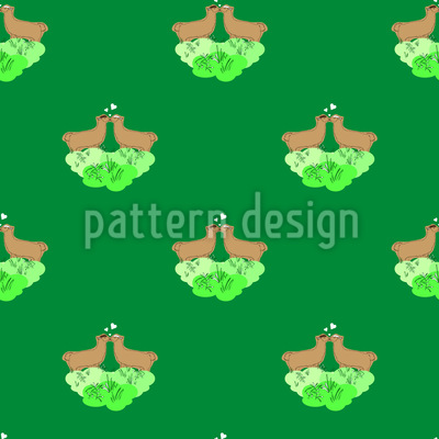 Grün ist die Hoffnung Vektor Design