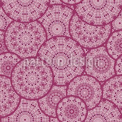 Mandala Treffen Nahtloses Muster
