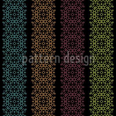 Streifende Farben Musterdesign