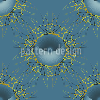 Marbella Seamless Vector Pattern Design