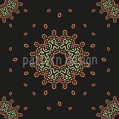 Sich in einer Umlaufbahn bewegen Musterdesign