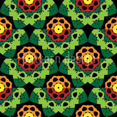 Florale Grafik Vektor Muster