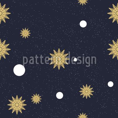 Winter Nachthimmel Vektor Design