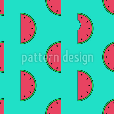 Leckere Melonen Designmuster