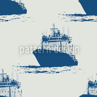 Cast Off Nautical Vector Pattern