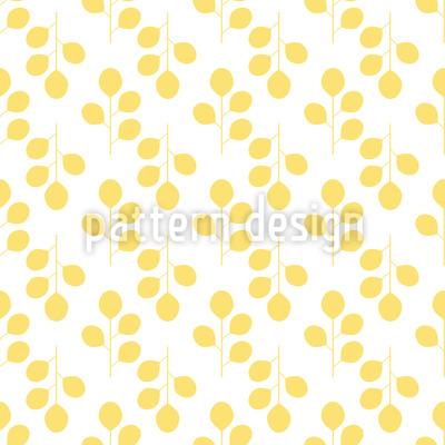 Goldener Herbst Nahtloses Vektor Muster