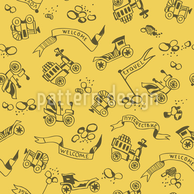 Golden Oldies Repeat Pattern