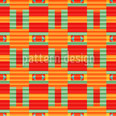 Lined color gradient Pattern Design