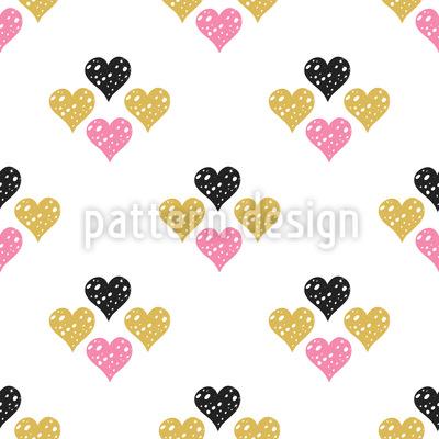 Geometrie der Liebe Musterdesign
