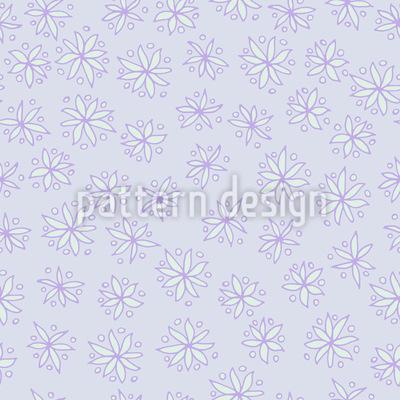 Von Blüten Träumen Nahtloses Muster