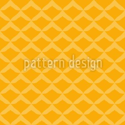 パイナップル・フェイク シームレスなベクトルパターン設計
