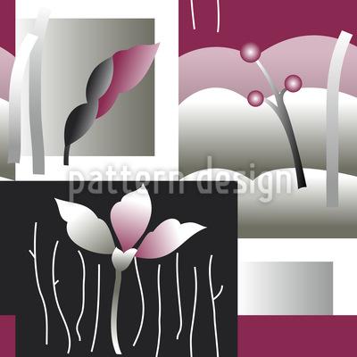 Blüten Beeren Vektor Design