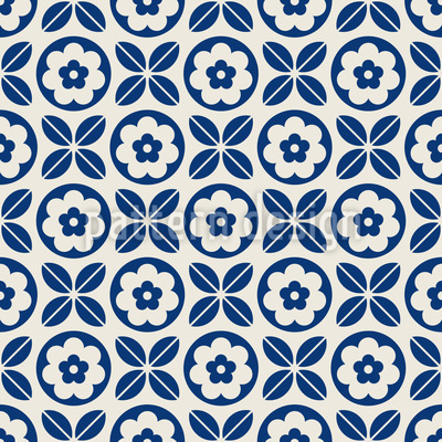 Well aligned Seamless Vector Pattern Design
