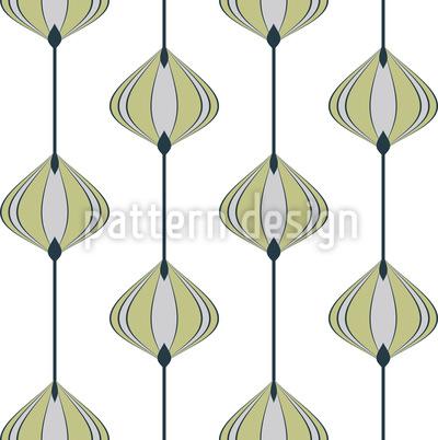 Corda de Cebola Design de padrão vetorial sem costura