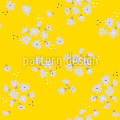 Blühende Kirsche Musterdesign