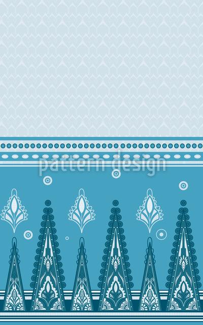 Saree In Summer Pattern Design