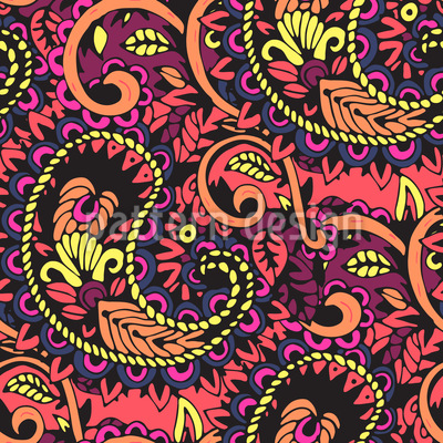 Paisley Rapportmuster