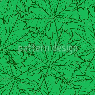 Blätterboden Muster Design