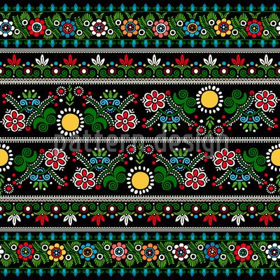 Ungarische Stickere Musterdesign