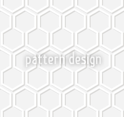 Bleaky Honey Seamless Vector Pattern